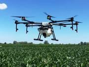 Послуги дрона безпілотника мультікоптера агродрона квадрокоптера
