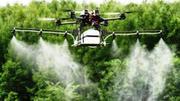 Авіаобробка полів агродроном дельтапланом