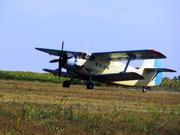 Самолет для обработки кукурузы и подсолнечника от совки